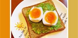 綠色低碳環保早餐